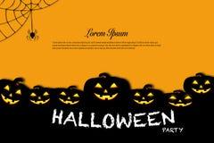 Concetto di idea di celebrazione di festa del fondo di Halloween Immagini Stock