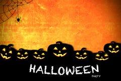 Concetto di idea di celebrazione di festa del fondo di Halloween Immagine Stock