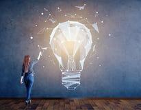 Concetto di idea e di creatività illustrazione di stock