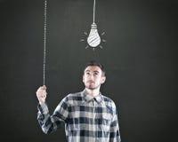 Concetto di idea, illustrazione di vettore Fotografie Stock Libere da Diritti
