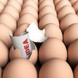 Concetto di idee originali Immagine Stock Libera da Diritti