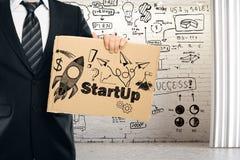 Concetto di imprenditorialità Fotografia Stock