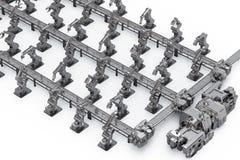 Concetto di industria di automazione illustrazione vettoriale