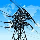 Concetto di industria di potenza Immagini Stock Libere da Diritti