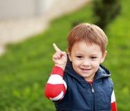 Concetto di infanzia Fotografie Stock Libere da Diritti