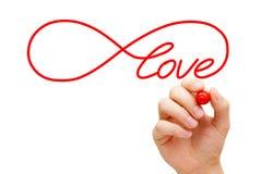 Concetto di infinito di amore Immagine Stock