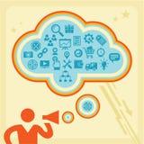 Concetto di Infographic - icone messe Fotografia Stock Libera da Diritti