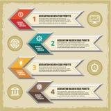 Concetto di Infographic - schema di vettore Fotografie Stock