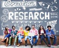 Concetto di informazioni di conoscenza di fatti rapporto di ricerca Immagini Stock Libere da Diritti