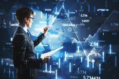 Concetto di informazioni e di tecnologia immagini stock libere da diritti