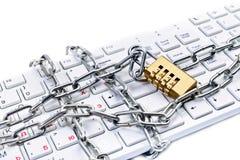 Concetto di Internet di interdetto Immagine Stock