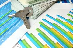 Concetto di investimento di bene immobile Immagine Stock