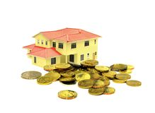 Concetto di investimento della proprietà Fotografie Stock