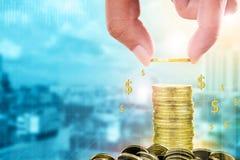 Concetto di investimento e di finanza Fotografia Stock