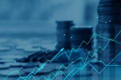 Concetto di investimento e di finanza fotografie stock