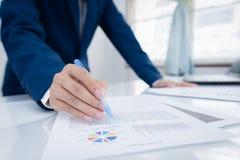 Concetto di investimento di finanza e di affari Fotografia Stock