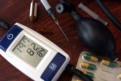 Concetto di ipertensione immagini stock libere da diritti