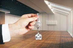 Concetto di ipoteca e del bene immobile Immagine Stock Libera da Diritti