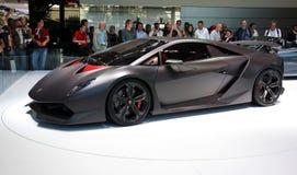 Concetto di Lamborghini Sesto Elemento Immagine Stock