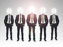 Concetto di lavoro di squadra dell'uomo d'affari Immagini Stock