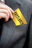 Concetto di lavoro indipendente Fotografia Stock