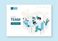 Concetto di lavoro di squadra illustrazione vettoriale