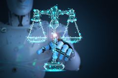 Concetto di legge di Internet royalty illustrazione gratis