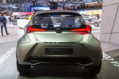 Concetto 2015 di Lexus LF-SA Immagine Stock Libera da Diritti