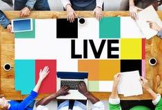 Concetto di Live Lifestyle Life Alive Balance immagini stock libere da diritti