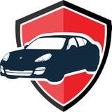 Concetto di logo dell'automobile illustrazione vettoriale