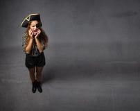 Concetto di mal di denti del pirata fotografia stock libera da diritti