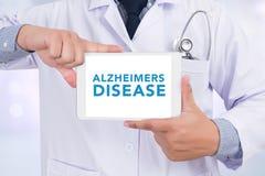 Concetto di malattia di Alzheimers Fotografia Stock Libera da Diritti