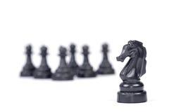 Concetto di manovra di scacchi Fotografia Stock