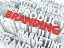 Concetto di marca. Fotografia Stock Libera da Diritti