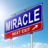 Concetto di miracolo. Fotografie Stock