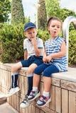 Concetto di modo dei bambini Immagine Stock Libera da Diritti