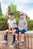 Concetto di modo dei bambini Fotografie Stock