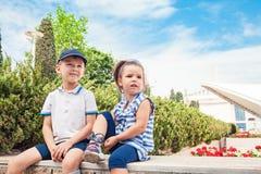 Concetto di modo dei bambini Fotografie Stock Libere da Diritti