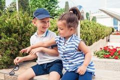 Concetto di modo dei bambini Fotografia Stock Libera da Diritti