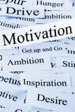 Concetto di motivazione Immagine Stock