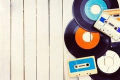 Concetto di musica Fotografia Stock
