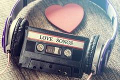 Concetto di musica di amore Fotografie Stock Libere da Diritti