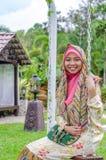 Concetto di Muslimah Fotografie Stock