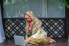 Concetto di Muslimah Immagine Stock
