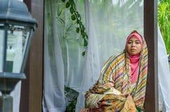 Concetto di Muslimah Fotografie Stock Libere da Diritti