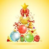 Concetto di Natale Fotografia Stock