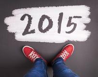 Concetto di natale del nuovo anno Fotografia Stock