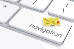 Concetto di navigazione Fotografia Stock