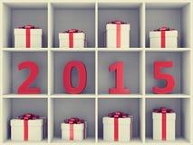 Concetto di nuovo anno felice Fotografia Stock