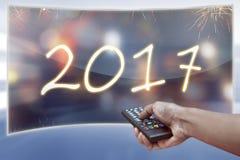 Concetto di nuovo anno felice Immagini Stock Libere da Diritti